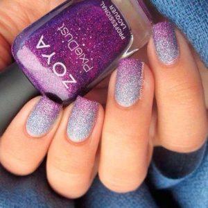 purple fade blue