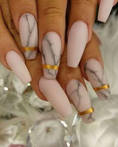 matte nude marble