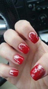 red hot glitter