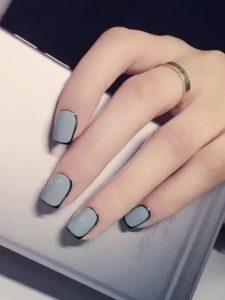 black lining around nail