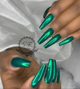 green chrome polish