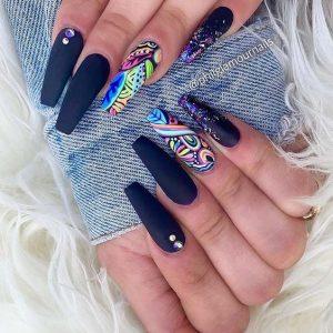 matte black colors