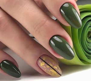 army green with gold