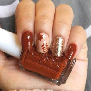 orange brown gold