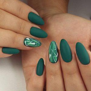 palm print green
