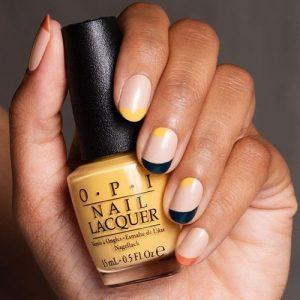 french manicure modern design
