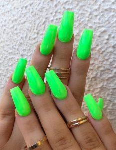shocking green neon