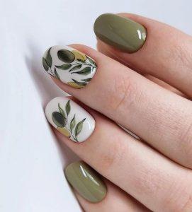 olive branch design