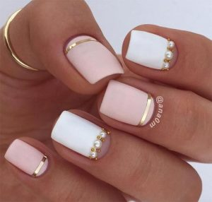 embellished with pearl