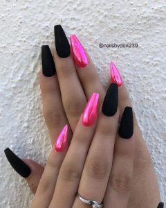 chrome hot pink
