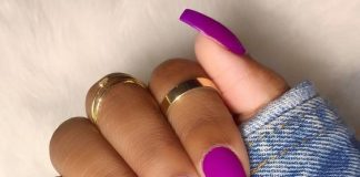matte purple bright
