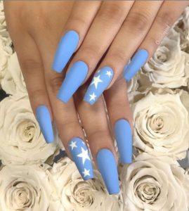 matte star blue