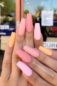 matte pinks