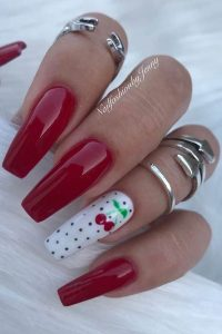 cherry design red
