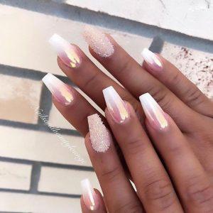 white pink chrome