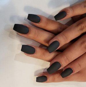 coffin matte black