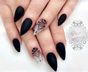clear matte black design