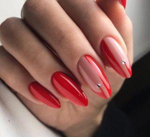 nude red minimal