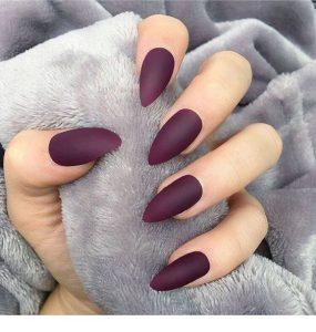 fall purple matte sharp
