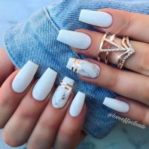 white marble with stripes