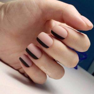 matte black on side