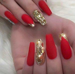 red disco glitter xmas