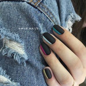 color on side of matte