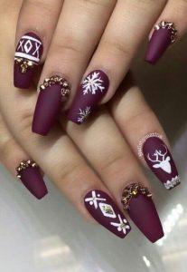purple xmas design