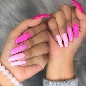 pink monochrome summer