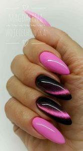 pink magnetic polish
