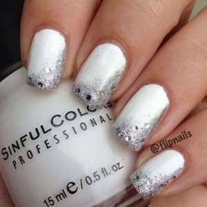 silver sides white