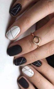 black white striping