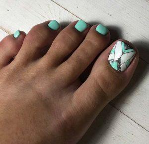 mint white shape toes