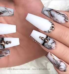 marble edge matte