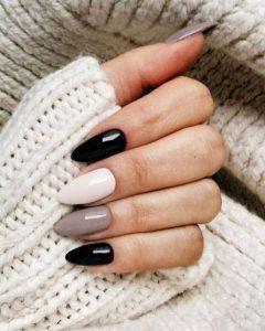 shades of black white