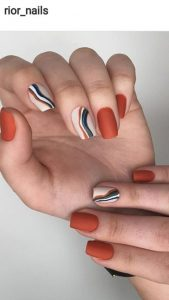 stripe fall colors