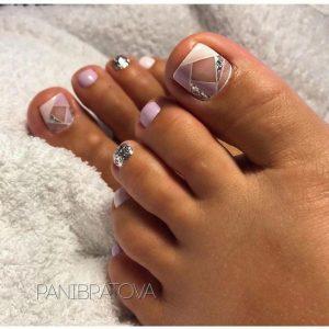 shape negative space toe
