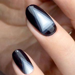 shapes black ombre