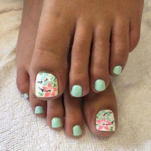 hibiscus flower toe