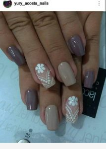 taupe contrast with lace