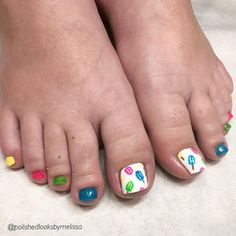 summer Popsicle toes