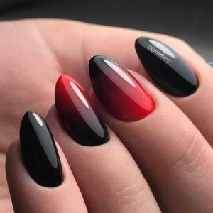 rotating ombre styles red
