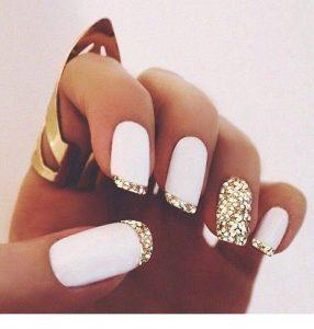 french white gold matte