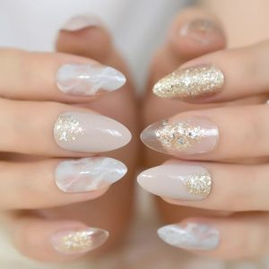 clear gold chic nye