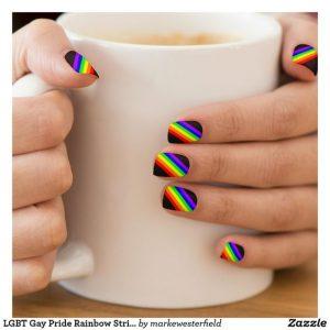 prideful rainbow black