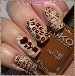 coffee bean cup stamping