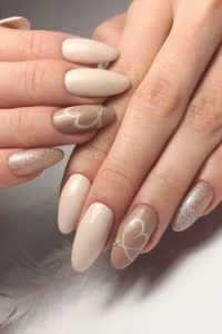 shades of nude heart gold