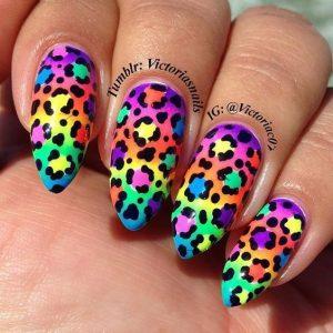 cheetah print colorful