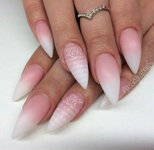 stiletto word ombre french