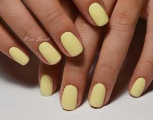dip powder yellow light